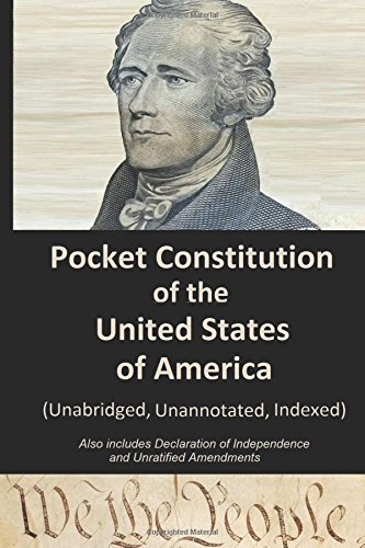 Pocket Constitution of the United States of: The Continental Congress;