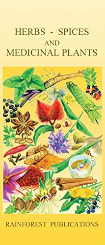 9780997901887: Herbs, Spices, and Medicinal Plants of Latin America Field Guide (Laminated Foldout Pocket Field Guide) (English and Spanish Edition)