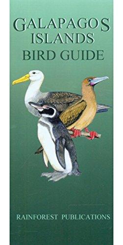 Galapagos Islands Birds Field Guide (Laminated Foldout: Rainforest Publications