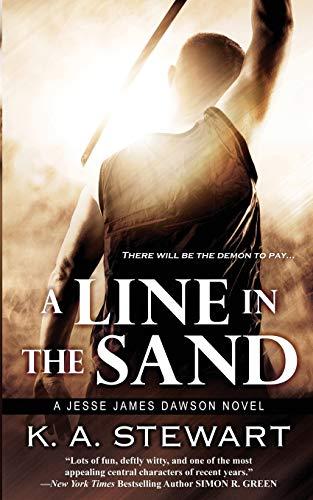 9780997950427: A Line in the Sand (Jesse James Dawson)