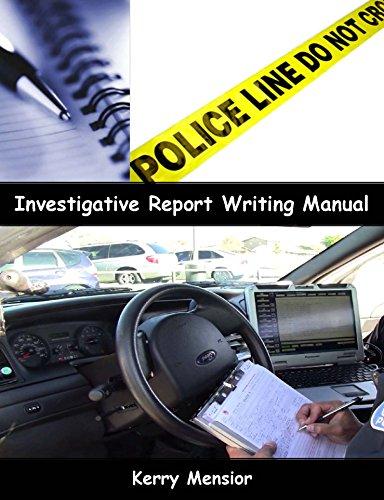 9780997991000: Investigative Report Writing Manual