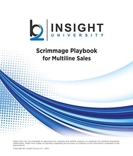 9780998168005: Scrimmage Playbook for Multiline Sales