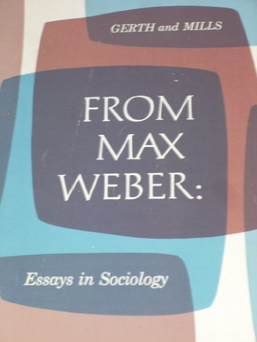 9781005924300: From Max Weber Essays in Sociology