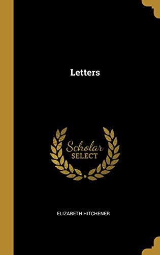 Letters (Hardback): Elizabeth Hitchener