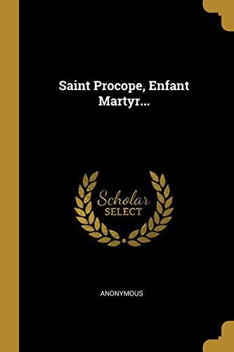 9781011042975: Saint Procope, Enfant Martyr...