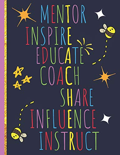 9781070398075: Inspire: Inspirational Journal or Notebook for Teacher: Perfect Gifts for Teacher Appreciation/Thank You/Retirement/Year End Gift