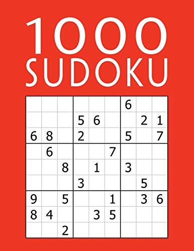 9781070765310: SUDOKU 1000: Gioco Classico 9x9 | facile - medio - difficile - diabolico - lettere | Per Bambini & Adulti & Anziani | Puzzle Con Soluzioni