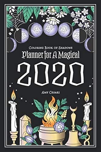 9781072406341: Coloring Book of Shadows: Planner for a Magical 2020