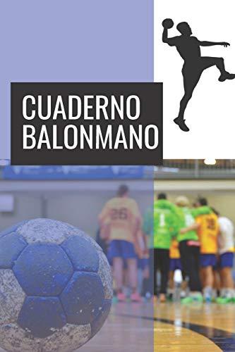 9781074363208: Cuaderno Balonmano: 110 Páginas para Planificar tus Entrenamientos de Balonmano | Regalo Perfecto para Entrenadores de Balonmano o Handball | Creado por Amantes del Balonmano
