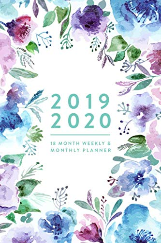 9781076306548: 2019 - 2020 | 18 Month Weekly & Monthly Planner