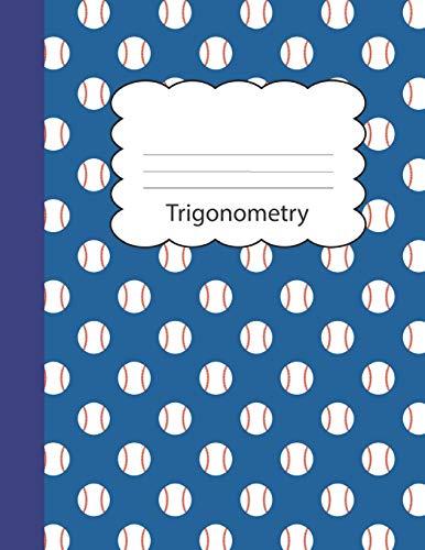 Trigonometry: Baseball Blank 4 x 4 Quadrille: Kidcompz Publications