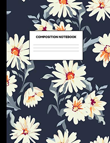Composition Notebook: Wide Ruled Paper Notebook Journal: Composition Notebooks, Pretty