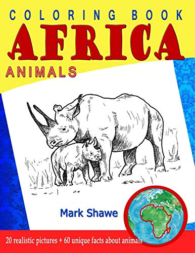 9781079227536: Coloring Book Animals of Africa: 20 original realistic full-page images of wild animals of Africa.: 1 (Animal Planet)