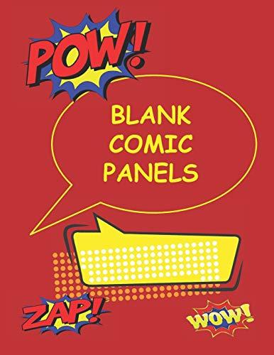Blank Comic Panels: Blank Comic Book Draw: Journals, Creative Comic