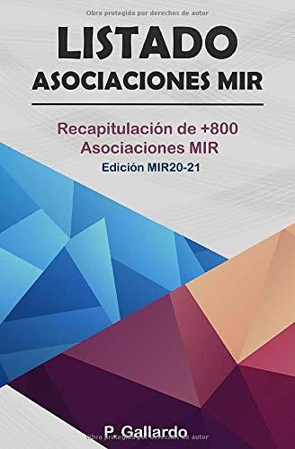 9781080289721: Listado: Asociaciones MIR.: Recapitulación de 800 Asociaciones MIR.