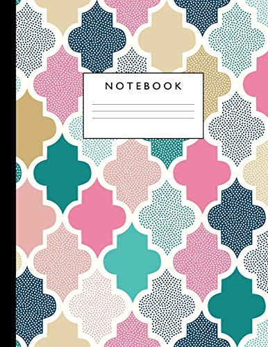 Notebook: Cute Lined Journal Ruled Composition Note: Composition Notebooks, Pretty