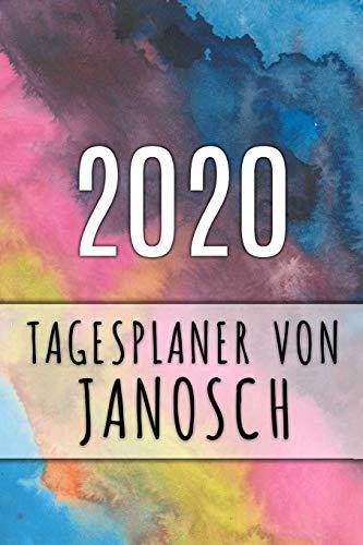 9781082804441: 2020 Tagesplaner von Janosch: Personalisierter Kalender für 2020 mit deinem Vornamen