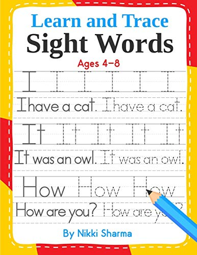 Learn and Trace Sight Words: Step-by-Step exercises: Sachdeva, Sachin