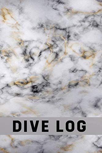 9781086947397: Diver's Log Book: Log Book Scuba Diving | Beginners & Experienced Divers – White Marble (Extreme Water Sports)