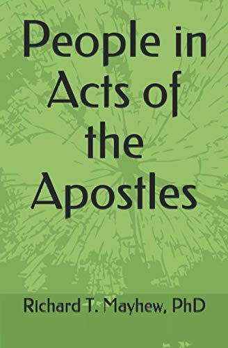 9781089553380: People in Acts of the Apostles