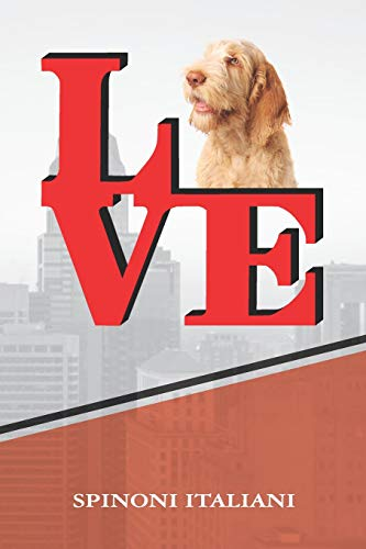 """9781090955357: Spinone Italiano: Dog Love Park Isometric DOT Paper Notebook book is 120 pages 6""""x9"""""""