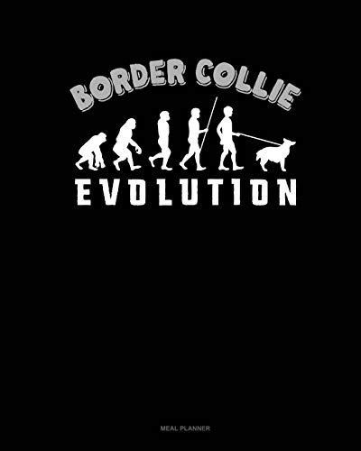 Border Collie Evolution: Meal Planner (Paperback): Jeryx Publishing