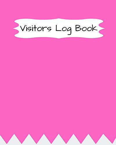 Visitor Log Book: Register, Login Notebook, Record: Easy Tracking