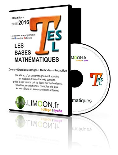9781094458021: Les bases mathématiques en Tle ES L : Soutien scolaire en vidéos - Maths bac ES L