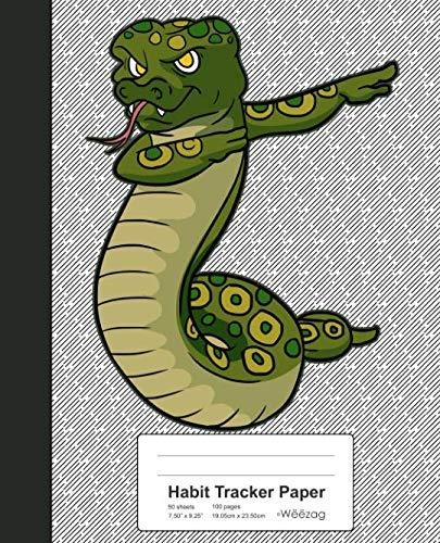 9781097507146: Habit Tracker Paper: Dabbing Snake Book