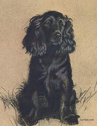 9781098770464: Notebook: Cecil Aldin Cocker Spaniel Journal College Ruled Large 110 Pages