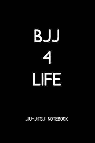 9781099817502: BJJ 4 Life Jiu-jitsu Notebook: BJJ Notes and Diary