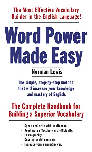 9781101873854: Word Power Made Easy: The Complete Handbook for Building a Superior Vocabulary