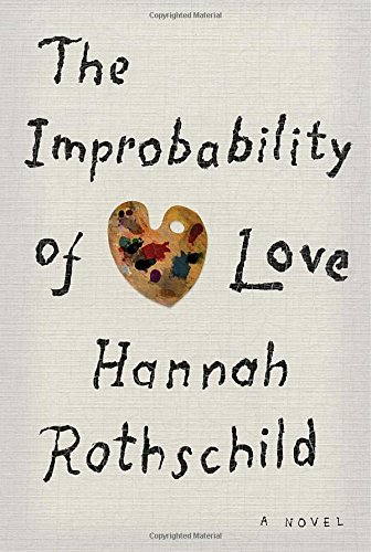 Cover of the book, The Improbability of Love.