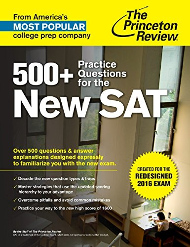 9781101881750: 500+ Practice Questions for the New Sat (Princetown Review)