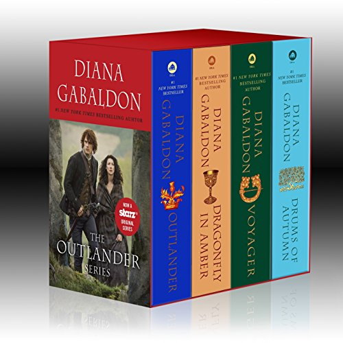 9781101887486: Outlander 4-Copy Boxed Set: Outlander, Dragonfly in Amber, Voyager, Drums of Autumn