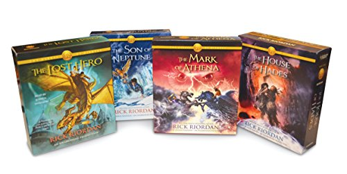 9781101891032: The Heroes of Olympus Books 1-4 CD Audiobook Bundle: Book One: The Lost Hero; Book Two: The Son of Neptune; Book Three: The Mark of Athena; Book Four: The House of Hades