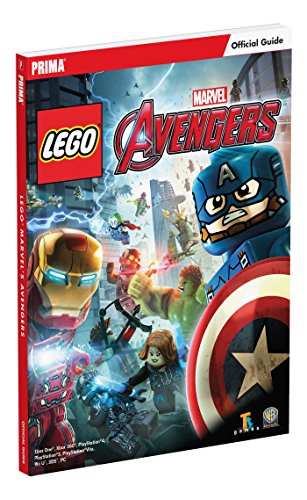 9781101898543: LEGO Marvel's Avengers Standard Edition Strategy Guide