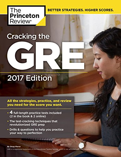 9781101919712: Cracking The GRE - 2017 Edition (Graduate Test Prep)