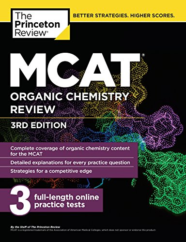 mcat organic chemistry review pdf