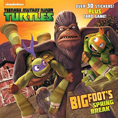 Bigfoot's Spring Break (Teenage Mutant Ninja Turtles) (Pictureback(R)): Random House