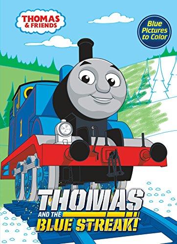Thomas and the Blue Streak (Thomas & Friends): Golden Books