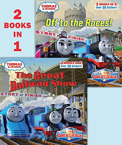 9781101932025: The Great Railway Show/Off to the Races (Thomas & Friends)