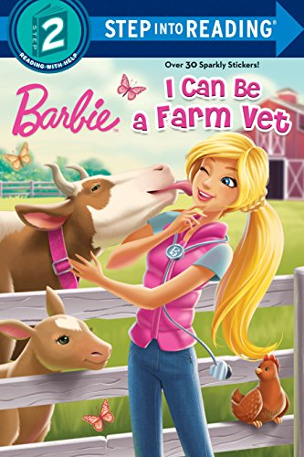 9781101932452: I Can Be a Farm Vet (Barbie) (Step into Reading)