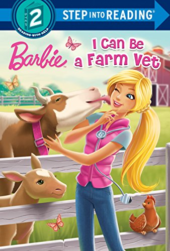 9781101932469: I Can Be a Farm Vet (Barbie) (Step into Reading)
