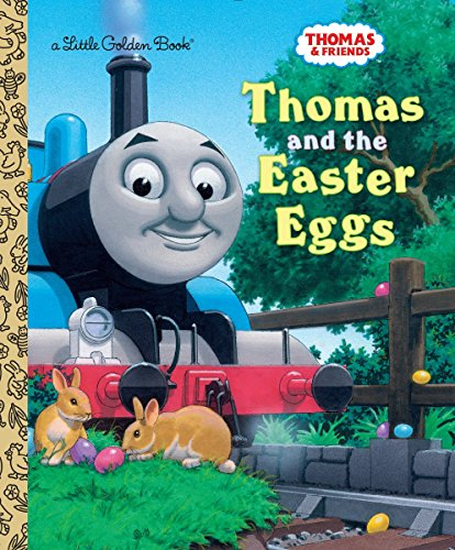 9781101932520: Thomas and the Easter Eggs (Thomas & Friends) (Little Golden Book)