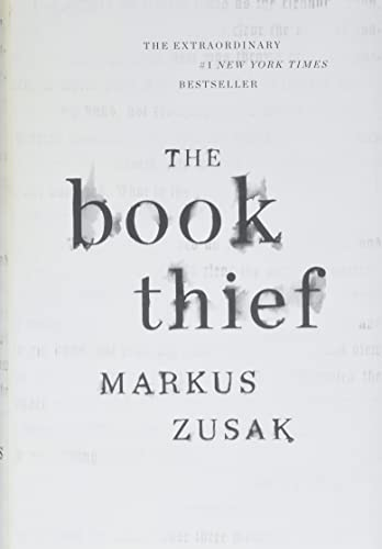 THE BOOK THIEF (SIGNED WITH DOODLE): Zusak, Markus