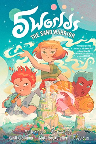 5 Worlds Book 1: The Sand Warrior (Paperback or Softback)
