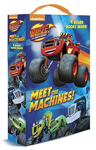 9781101936788: Meet the Machines! (Blaze and the Monster Machines)