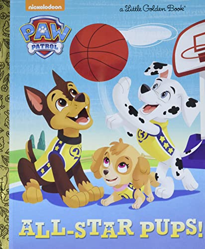 All-Star Pups! (Paw Patrol) (Hardcover)