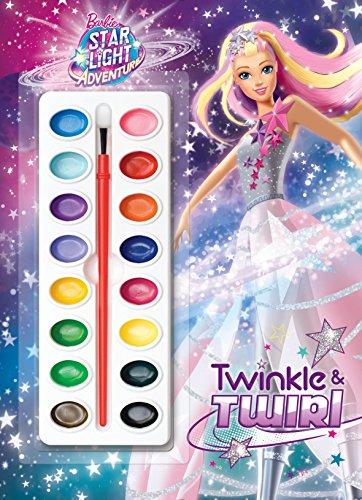 Barbie Summer 2016 Movie Deluxe Paintbox Book (Barbie): Golden Books
